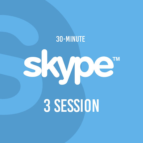 Three 30-Minute Skype Session
