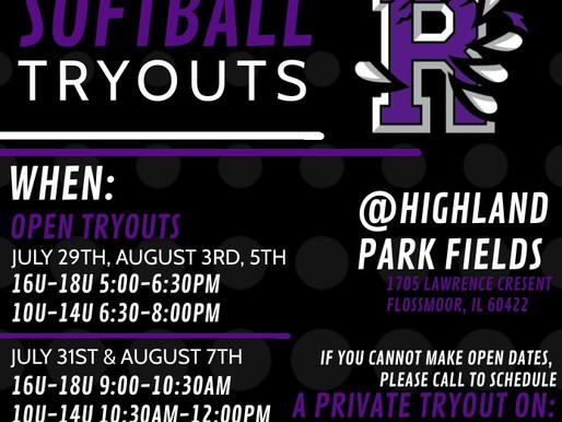 Royals Elite Softball Tryouts