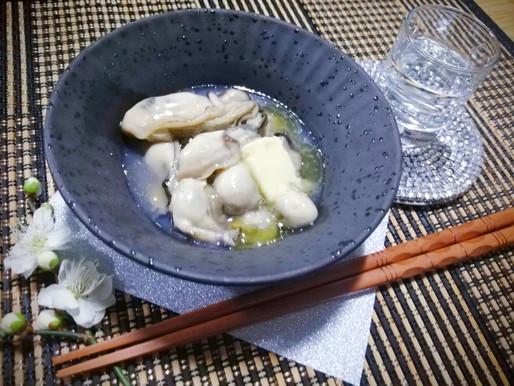 牡蠣のしろたまり煮バター風味