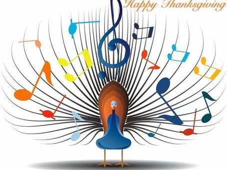 Thankful! November, 2020, still healthy, warm house, showers, good food, music,