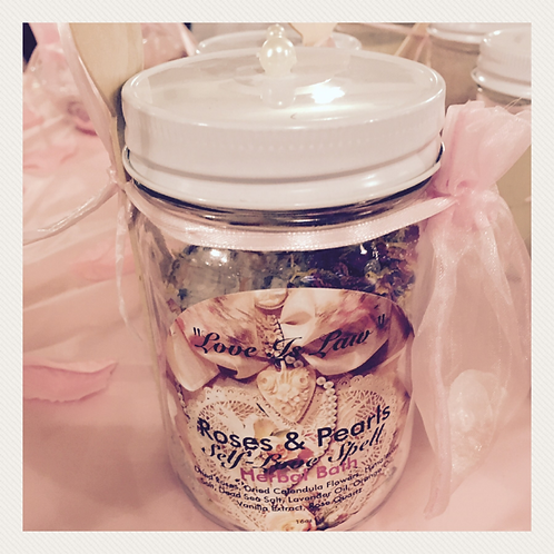 Self-Love Spell Herbal Bath Salts
