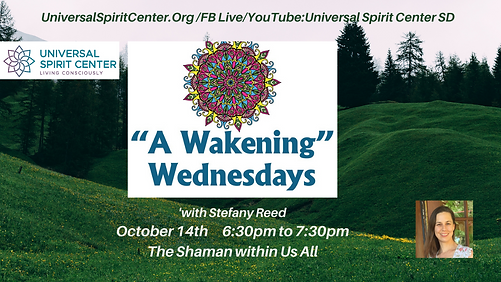 Stefany Reed  A Wakening Wednesday Oct14