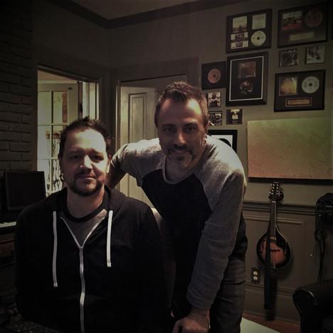 Jason & Jonah Brockman in the studio