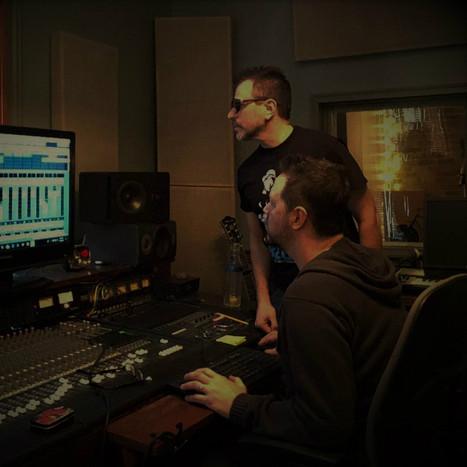 Jason & Jonah in the Studio