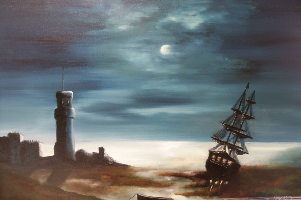 The Beached Galleon