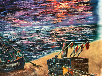 Journey Through a Storm (Gifted to The Mount Vernon Cancer Centre)