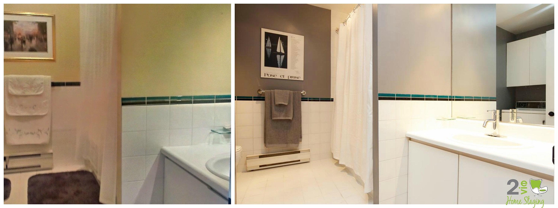 2e vie home staging salle de bain modernis e. Black Bedroom Furniture Sets. Home Design Ideas