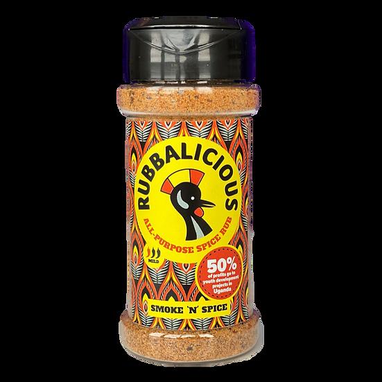 Rubbalicious Smoke 'n' Spice Shaker (65g)