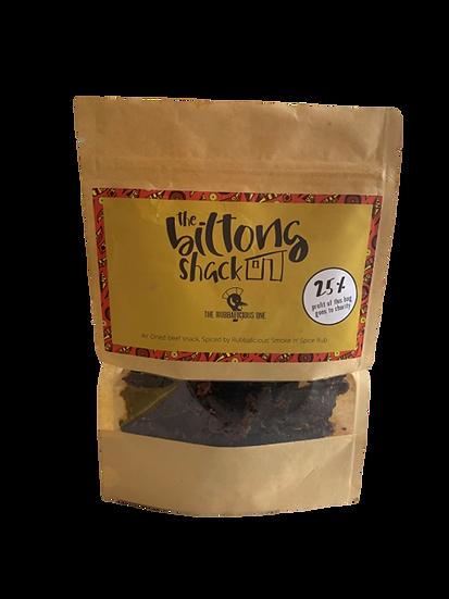 Rubbalicious x The Biltong Shack Biltong (250g Sharing Bag)