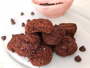 Galletas de coco y doble chocolate