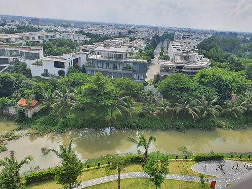 Cho thuê căn hộ Safira 2PN, 2WC tầng trung, view sông khu biệt thự