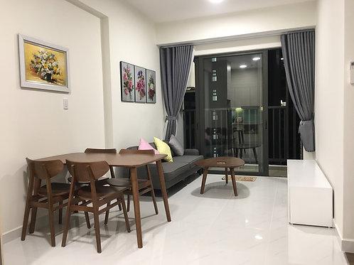 Cho thuê căn hộ 1 phòng ngủ full nội thất, tầng trung, view nội khu cc Safira
