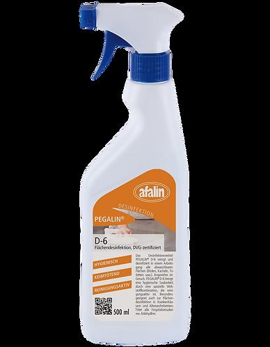 Pegalin D-6 Sprühdesinfektion