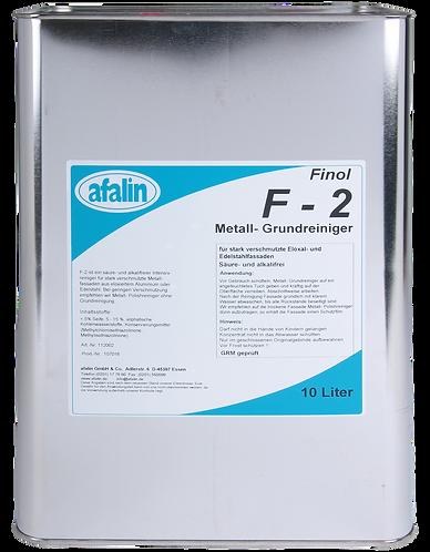 Finol Metall-Grundreiniger F-2 Fassadenreiniger