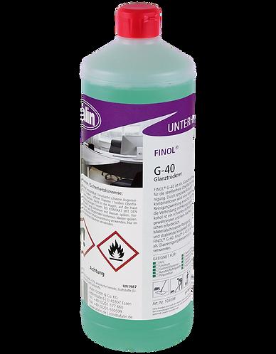 Finol G-40 Glanztrockner - Flasche