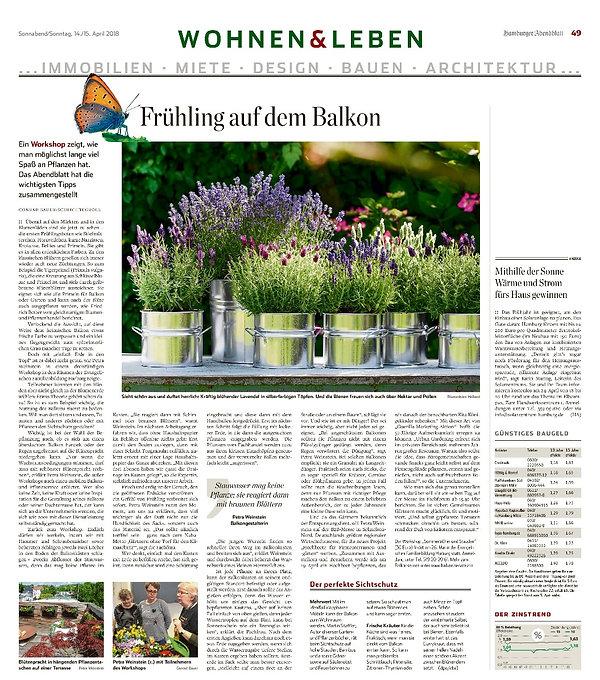 Sonnabend/Sonntag,14./15.April2018 Hamburger Abendblatt