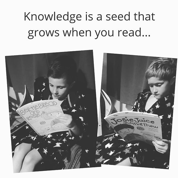 Knowledge is a seed...