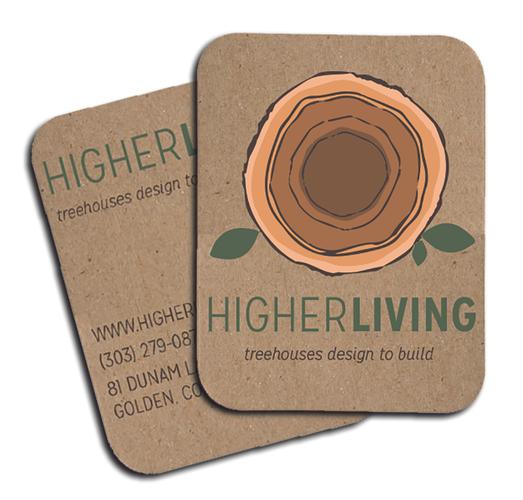 Higher Living Business Card