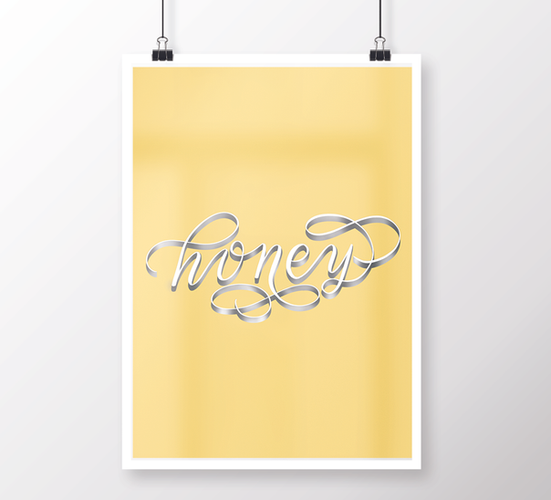 Flourish Calligraphy Print