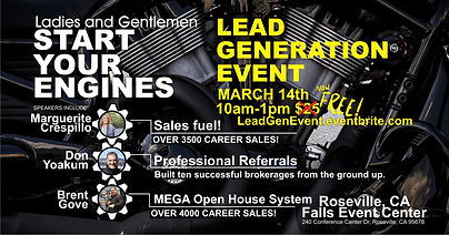 Lead gen event graphics EVENT BRIGHT fre
