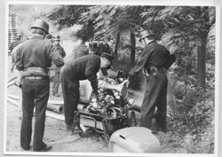 Waldbrandübung 1973