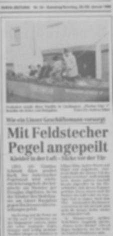 Pressebericht zum Hochwasser Jan 1995-2