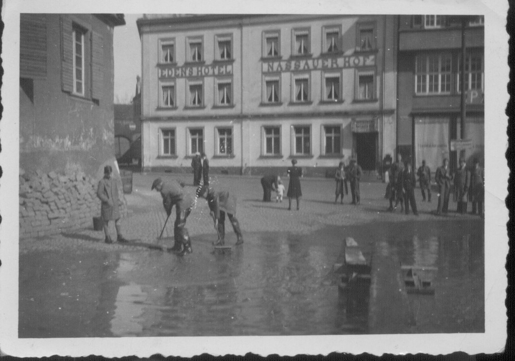 Hochwasser Burgplatz