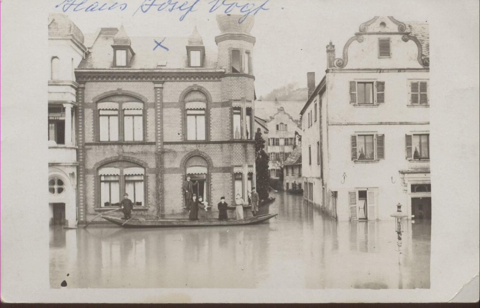 Hochwasser 1920 Gestade