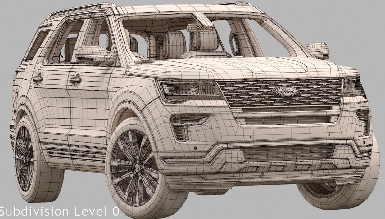 2019 Ford Explorer Grille System