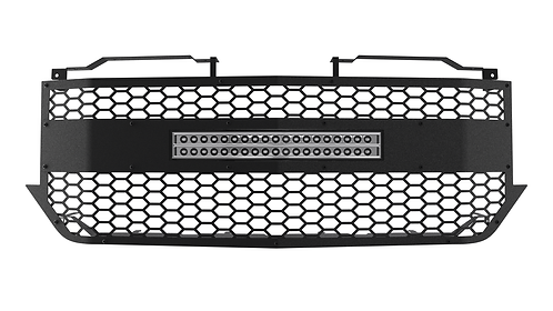 "ALUMINUM '16-18 Chevrolet Silverado 1500 Grille with 20"" Light Bar"