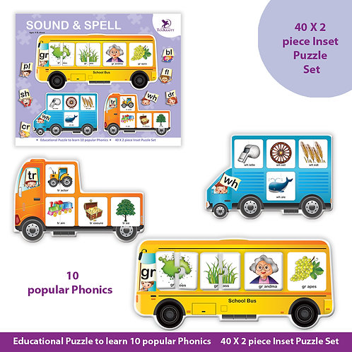 Spell & Sound - Phonics learning aid for kids