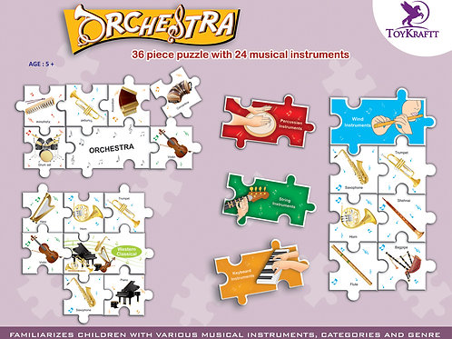 Musical Puzzle for kids age 5 6 7 from Toykraft