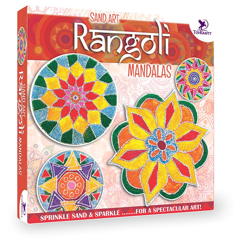 Toykraft Sand Art Rangoli Mandalas for kids