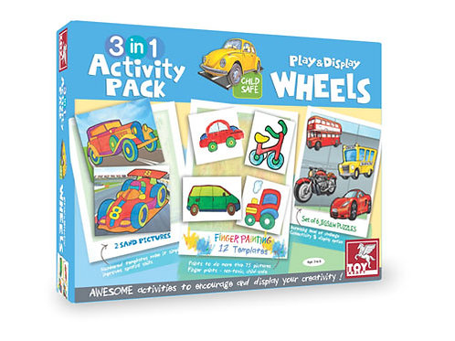 3 IN 1 ACTIVITY PACK - WHEELS