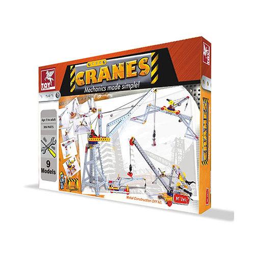 Toykraft STEM Cranes Multi Model Building Toy Kit for Boys & Girls 9 10 11