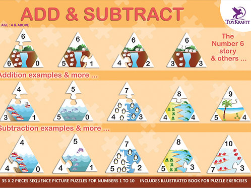 Learn to Add & Subtract with Toykraft learning game