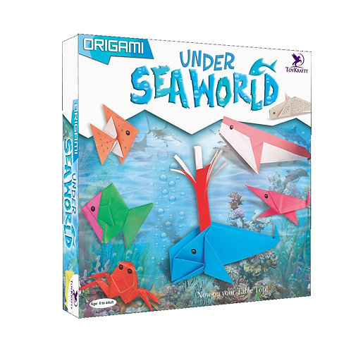 Origami - Under Sea World - Craft for Kids Ages 7 8 9