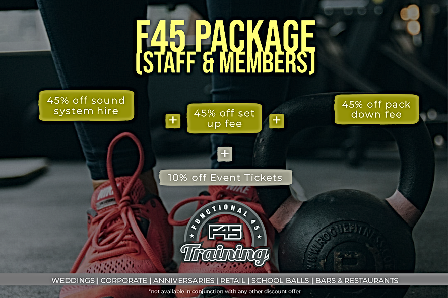 F45 Pac Offer (Staff and Members) Facebo