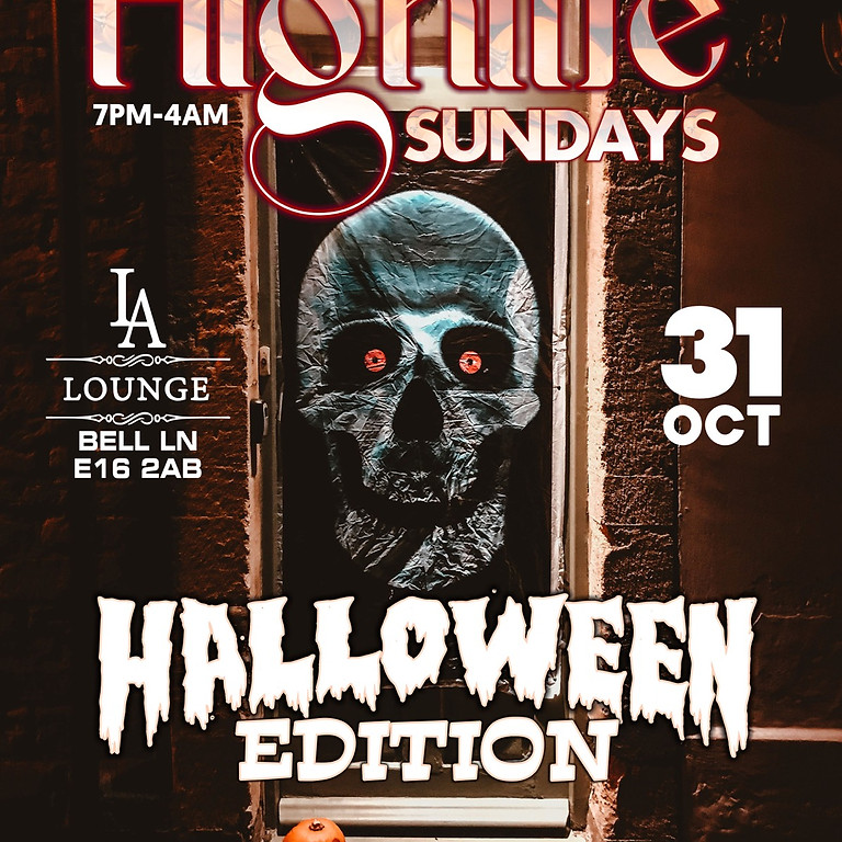 Highlife  Sundays(Halloween Edition )