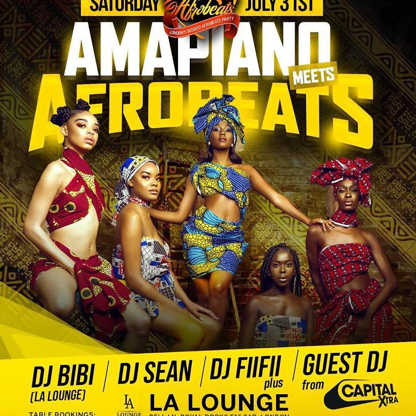 Amapiano Meets Afrobeats