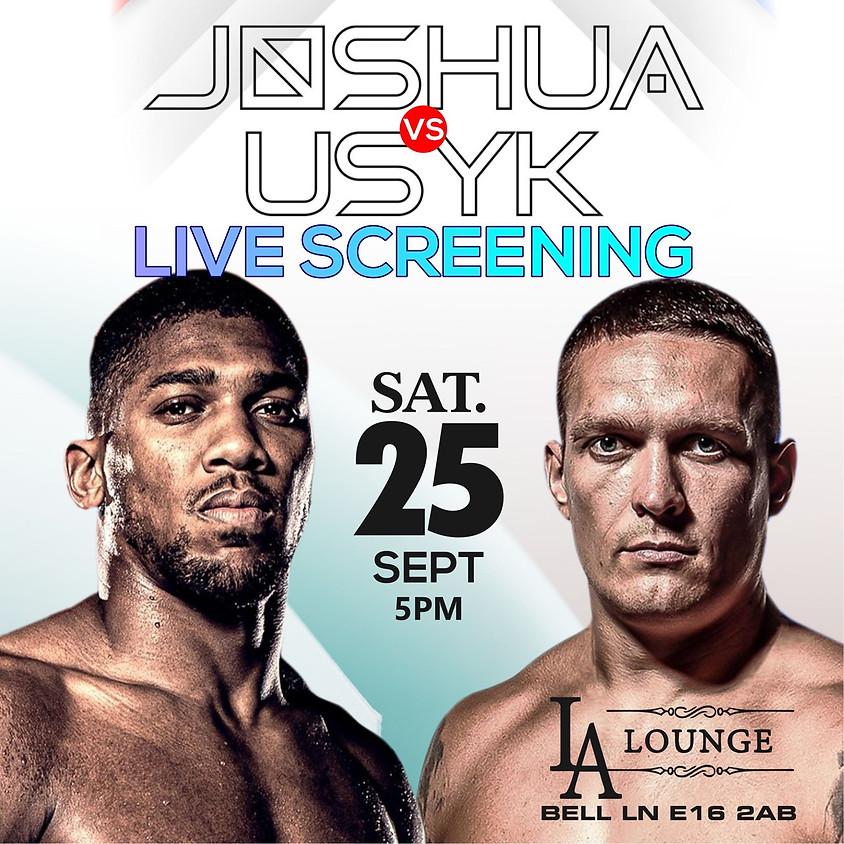 Anthony Joshua Vs USYK Live Screening
