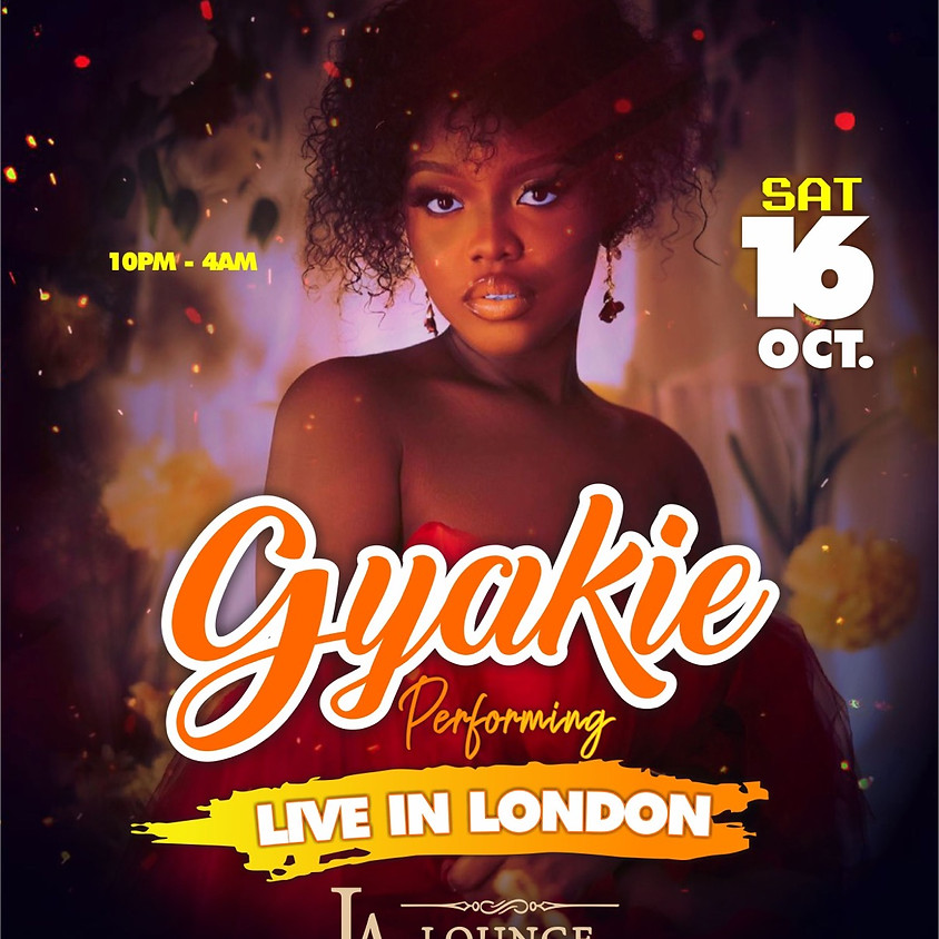 Gyakie Performing Live in London