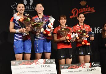 デンマークオープンスーパーシリーズプレミア2017 女子ダブルス決勝戦観戦記