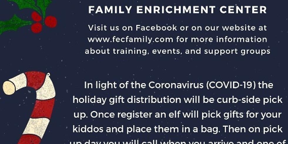 Family Enrichment Center Annual Calhoun County Gift Distribution