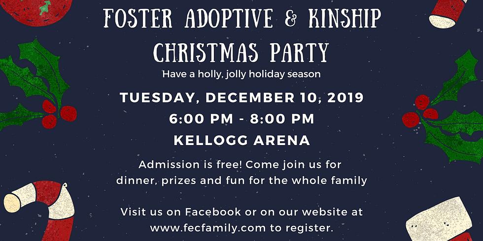 Foster, Adoptive & Kinship Christmas Party