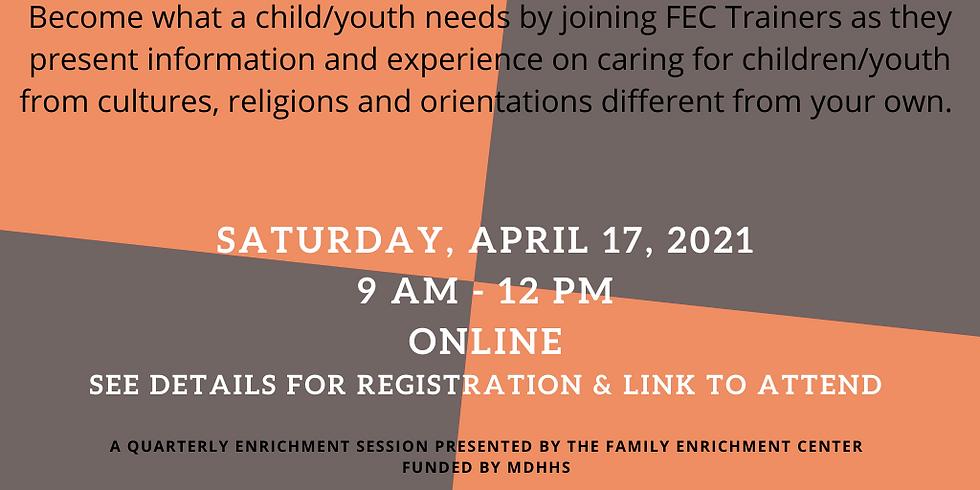 Quarterly Enrichment Session on Diversity & Inclusion!