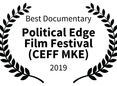 ALTERNATIVE FACTS Receives Award From Political Edge Film Festival