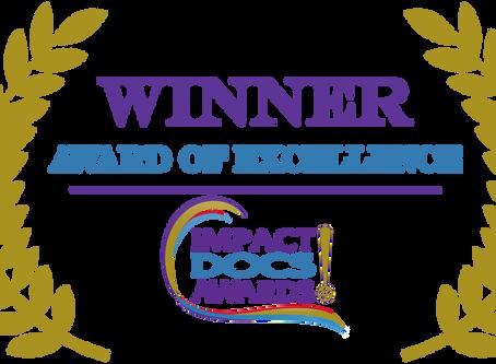ALTERNATIVE FACTS Receives Impact Docs Award
