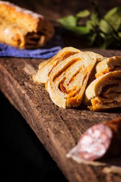 Pan con Chorizo