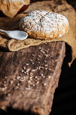 Pan oscuro de centeno